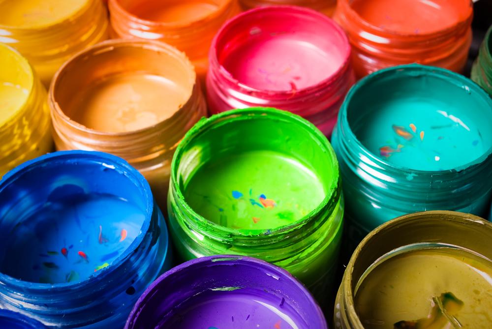 acrylfarbe auf kleidung