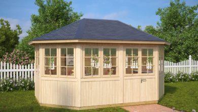 Photo of Holzpavillon im eigenen Garten: Stilvoll und praktisch mit Fundament von LogFoot™